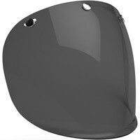 Bell 7084712 3 Snap Visor (Dark Smoke) for Custom 500 Helmets