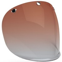 Bell 7084713 3 Snap Visor (Amber Gradient) for Custom 500 Helmets