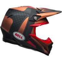 Bell Moto-9 Flex Helmet Vice Copper/Black