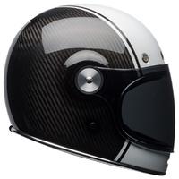 Bell Bullitt Helmet Carbon Pierce Black/White