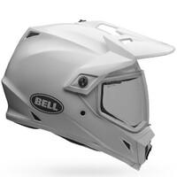 Bell MX-9 Adventure MIPS Helmet Solid White