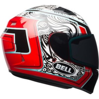 Bell Qualifier Helmet Tagger Splice White/Red/Black