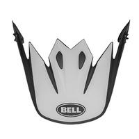 Bell Replacement Peak Presence Black/White for MX-9 Helmets