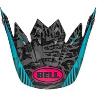 Bell Replacement Peak Chief Matte/Gloss Black/Pink/Blue for Moto-9 MIPS Helmets