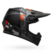 Bell MX-9 MIPS Helmet Presence Matte/Gloss Black/Gray/Fluorescent Orange Camo