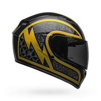 Bell Qualifier Helmet Scorch Black/Gold Flake