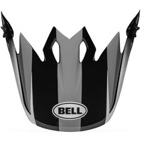 Bell Replacement Peak Dash Grey/Black/White for MX-9 Helmets