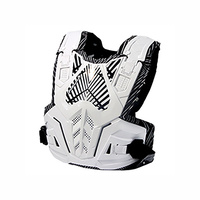 POLISPORT ROCKSTEADY CHEST PROTECTOR WHITE - DIRT BIKE