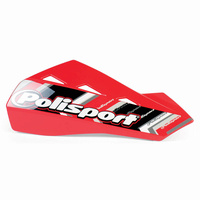Polisport 75-830-42R4 Qwest Handguards Red
