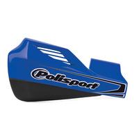 Polisport 75-830-64B MX Rocks Handguards & Universal Fitting Kit Blue