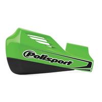 Polisport 75-830-64G MX Rocks Handguards & Universal Fitting Kit Green
