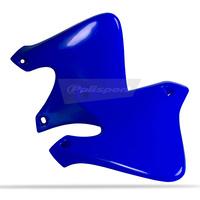 Polisport 75-841-01B8 Radiator Shrouds Blue for Yamaha YZ250F 01-02/YZ426F 00-02
