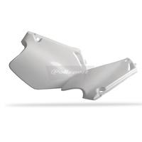 Polisport 75-841-10W Side Covers White for Honda CR125 95-97/CR250 95-96