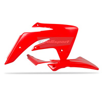 Polisport 75-841-22R4 Radiator Shrouds Red for Honda CRF150R 07-17