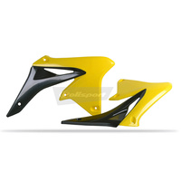 Polisport 75-841-36Y Radiator Shrouds Yellow for Suzuki RM-Z250 10-17