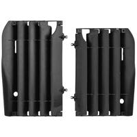 Polisport 75-845-64K Radiator Louvres Black for Honda CRF