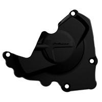 Polisport 75-846-10K Ignition Cover Black for Honda CRF250R 10-17