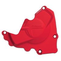 Polisport 75-846-10R Ignition Cover Red for Honda CRF250R 10-17
