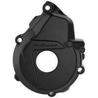 Polisport 75-846-40K Ignition Cover Black for KTM EXC-F 250/350 17-18