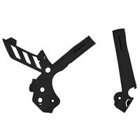 Polisport 75-846-65K Frame Protectors Black for KTM SXF