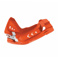 Polisport 75-846-88O Fortress Skid Plate Orange for KTM/Husqvarna