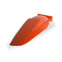 Polisport 75-856-00O Rear Fender Orange for KTM SX/EXC