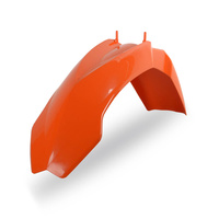 Polisport 75-856-12O Front Fender Orange for KTM SX/EXC