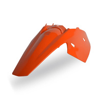 Polisport 75-856-13O Rear Fender & Side Cover Combo Orange for KTM SX/EXC