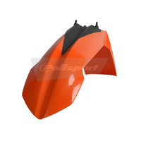 Polisport 75-856-87O Front Fender Orange for KTM SX/SX-F 07-12