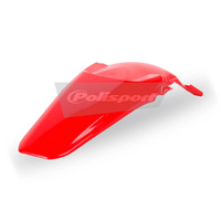 Polisport 75-856-91R4 Rear Fender Red for Honda CRF150R 07-17
