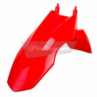 Polisport 75-857-35R4 Front Fender Red for Honda CRF110F 13-17
