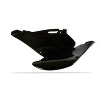 Polisport 75-860-02K Side Covers Black for Kawasaki KX125/250 99-02