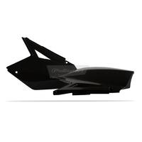 Polisport 75-860-37K Side Covers Black for Suzuki RM-Z250 07-09