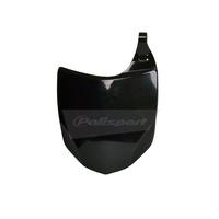 Polisport 75-865-68K Front Number Plate Black for Kawasaki KX250F/450F 09-12