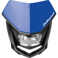 Polisport 75-865-74B8 Halo Headlight Blue