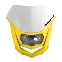 Polisport 75-865-74Y Halo Headlight Yellow
