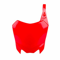 Polisport 75-865-88R4 Front Number Plate Red for Honda CRF110F 13-17