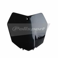 Polisport 75-865-91K Front Number Plate Black for KTM SX/SX-F