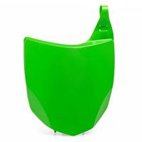 Polisport 75-865-92G5 Front Number Plate Green for Kawasaki KX250F 13-16/KX450F 13-15