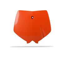 Polisport 75-866-03O Front Number Plate Orange for KTM 125/250 SX 99-02