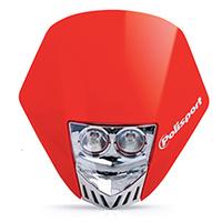 Polisport 75-866-33R4 HMX Duel Halogen Headlight Red