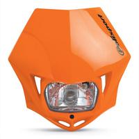 Polisport 75-866-35O MMX Headlight Orange