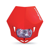 Polisport 75-866-35R4 MMX Headlight Red