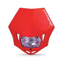 Polisport 75-866-35R4 MMX Headlight Red