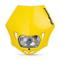 Polisport 75-866-35Y MMX Headlight Yellow