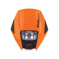Polisport 75-866-38O Exura Headlight Orange