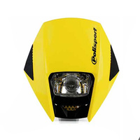 Polisport 75-866-38Y Exura Headlight Yellow