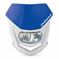 Polisport 75-866-71B LED Halo Headlight Blue