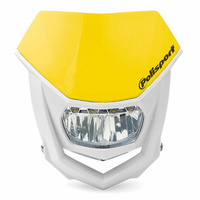Polisport 75-866-71Y LED Halo Headlight Yellow