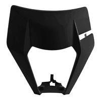 Polisport Headlight Surround Black for KTM EXC/EXCF 2020